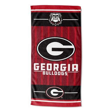 Georgia Bulldogs Beach Towel, 1 Each