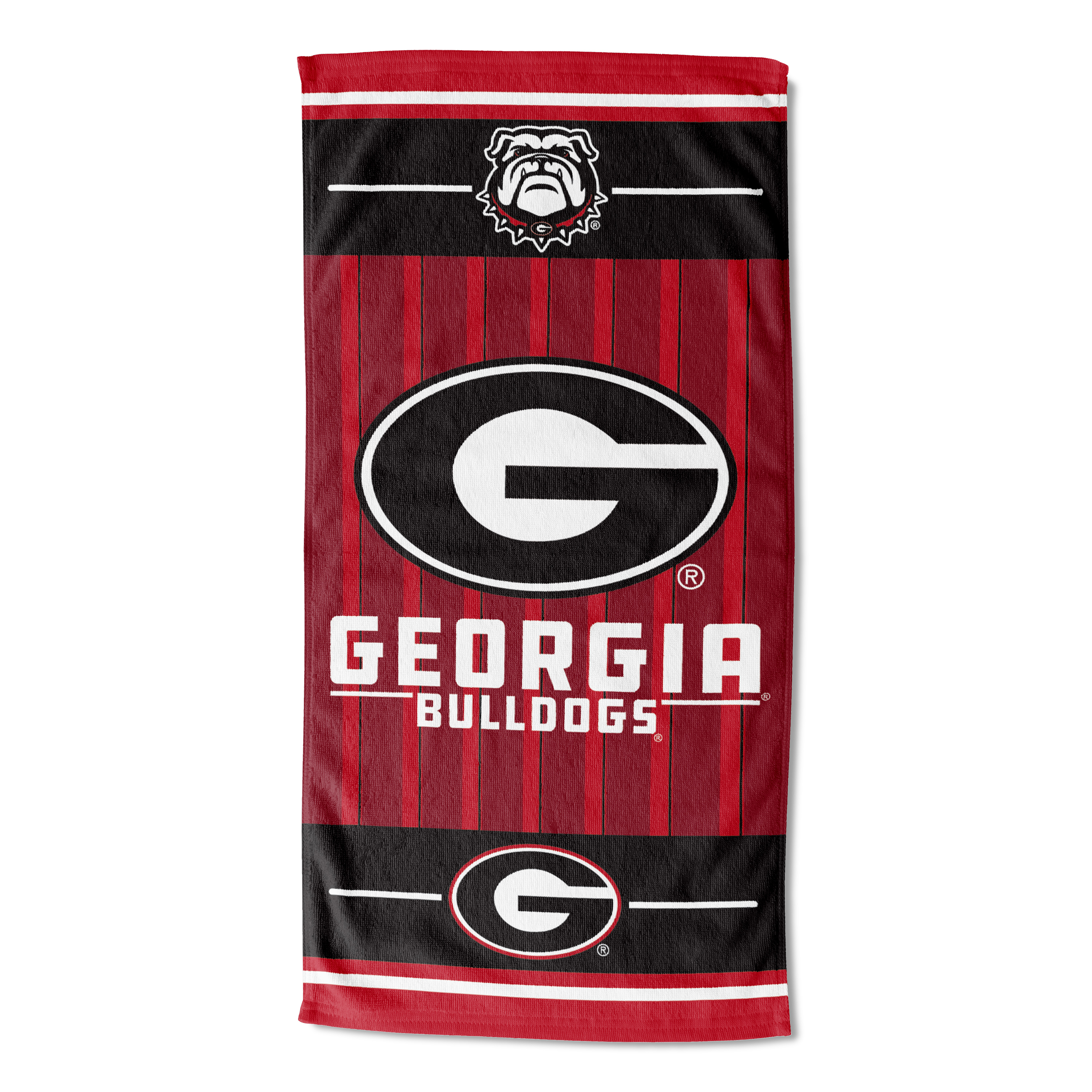 Georgia Bulldogs Beach Towel, 1 Each