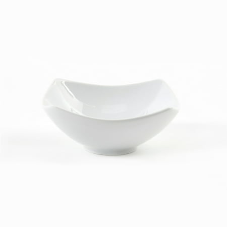 Gibson Elite Gracious Ceramic 4.5 In. Dining Bowl, White