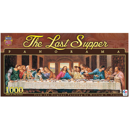 The Last Supper Panorama Puzzle