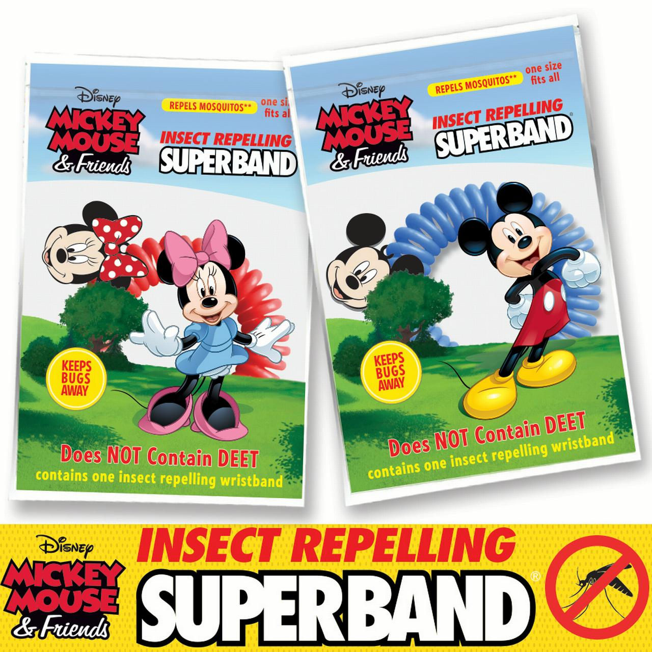 Insect Repelling DISNEY Superband (20-pack)