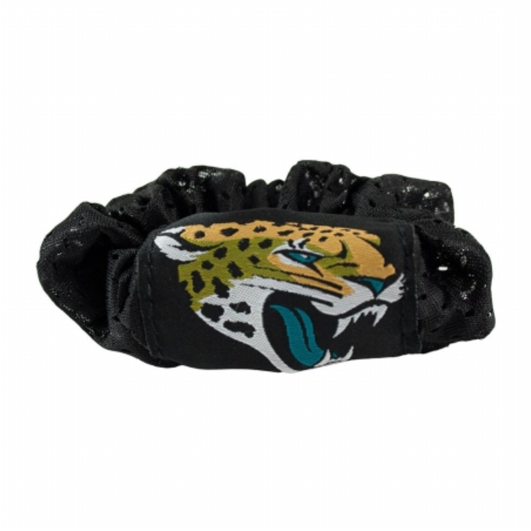 Jacksonville Jaguars Hair Twist Ponytail Holder