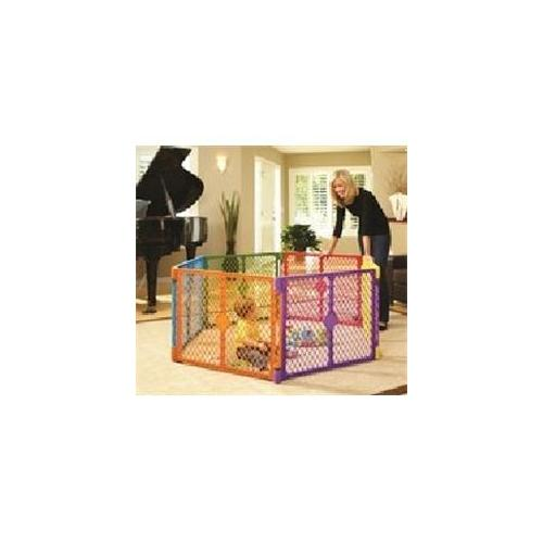 North States 8769 Superyard Colorplay Plastic Brn