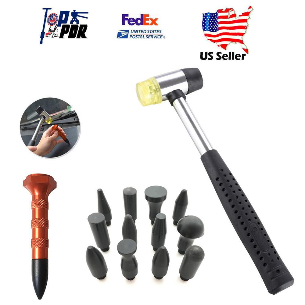 PDR Tools Dent Ding Hammer Tap Down Pen Paintles Hail Repair Car Damage Removal