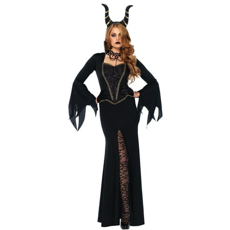 Leg Avenue Women's Evil Enchantress Villain Halloween Costume