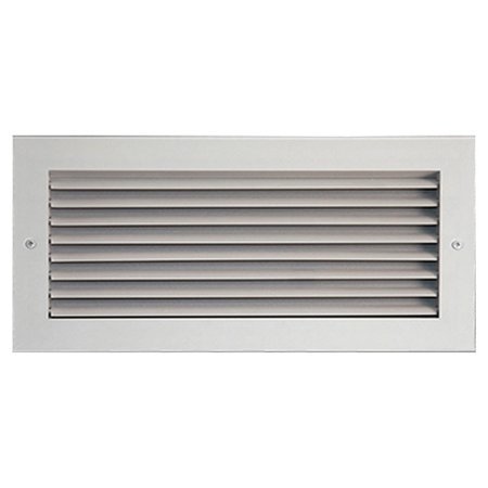 40X6 White Vent Cover (Aluminum) – Shoemaker 915 Series