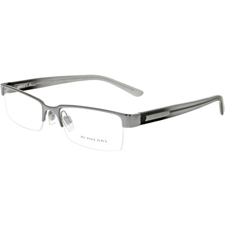 27fb97dac5f Burberry - Burberry Men s Eyeglasses BE1156-1003-52 Gray Semi-Rimless  Sunglasses - Walmart.com