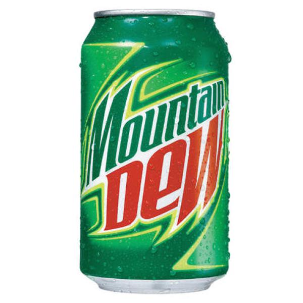 Mountain Dew 12 oz Cans - Pack of 24