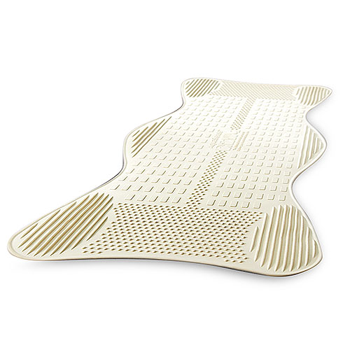 AquaSense Non-Slip Bath Mat with Invigorating Massage Zones, Large