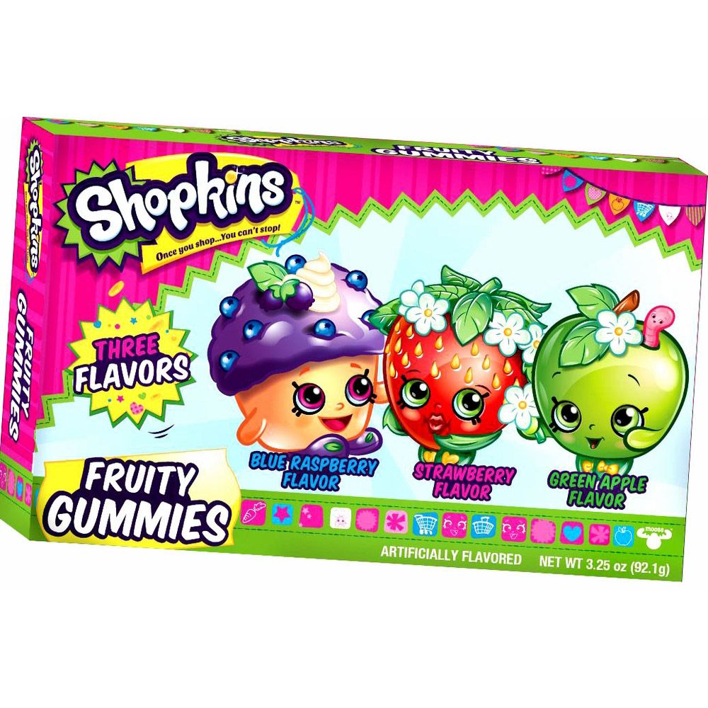 Shopkins Fruit Gummies Theater Box - Party Supplies