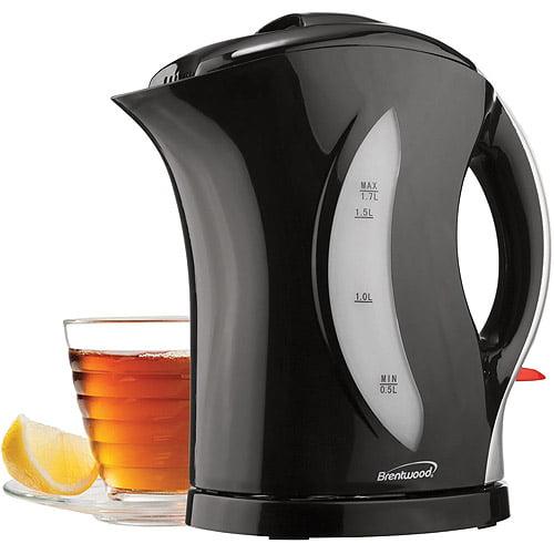 Brentwood Appliances KT-1617 1.7L Cordless Plastic Tea Kettle