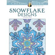 Creative Haven Coloring Books: Creative Haven Snowflake Designs Coloring Book (Paperback)