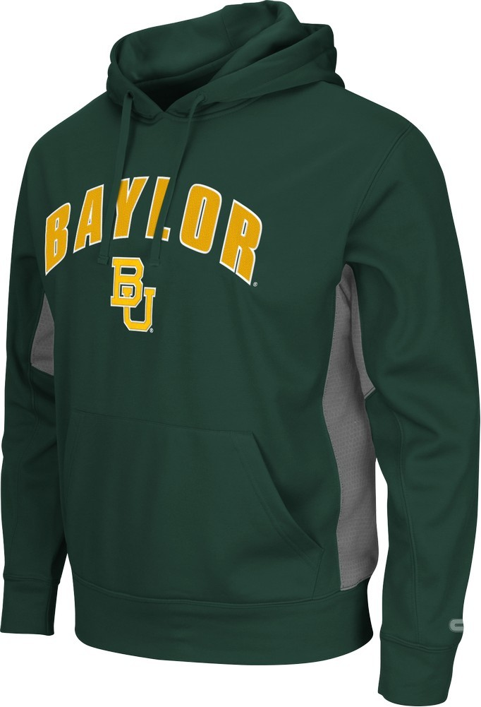 Baylor University Bears Men's Hoodie Poly Fleece Jacket by Colosseum