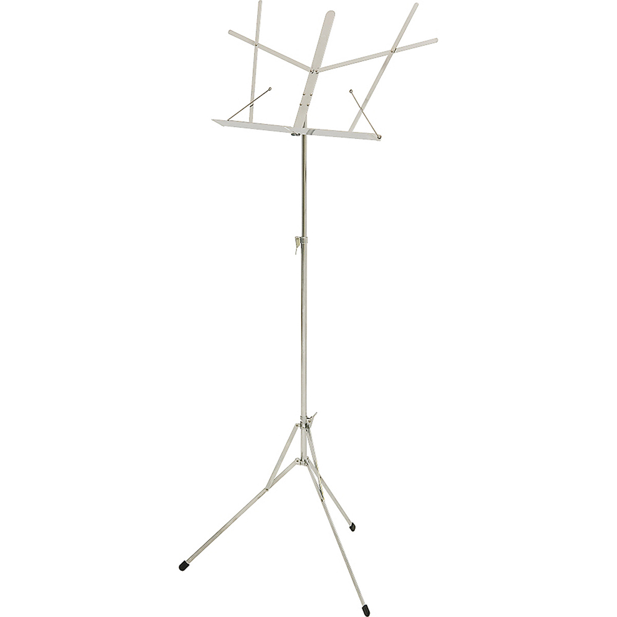 Hamilton Stands American Classic Folding Stand, Chrome, 2 Section by Hamilton