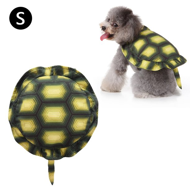 Dog Costume Halloween Turtle Dress Up Pet Backpack Suitable For Party Shooting Holiday Decoration Walmart Com Walmart Com
