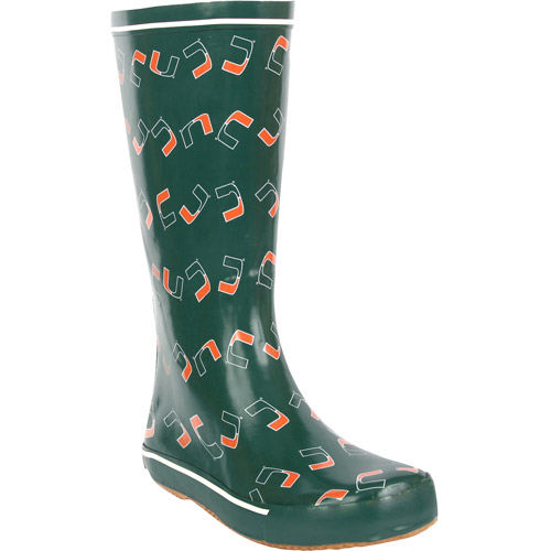 NCAA - Women's University of Miami Hurricanes Scattered Boots