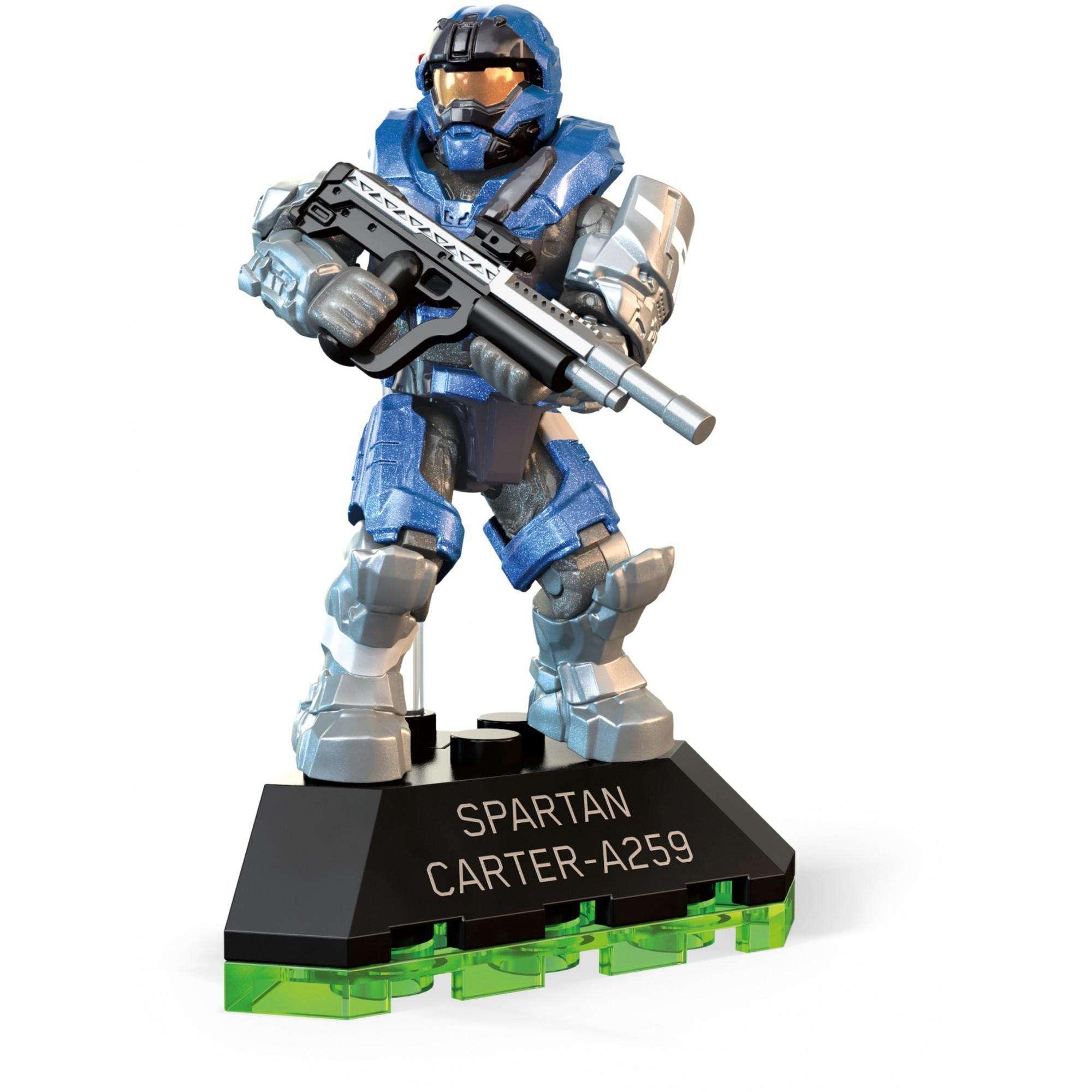 Mega Construx Halo Spartan Carter-a259