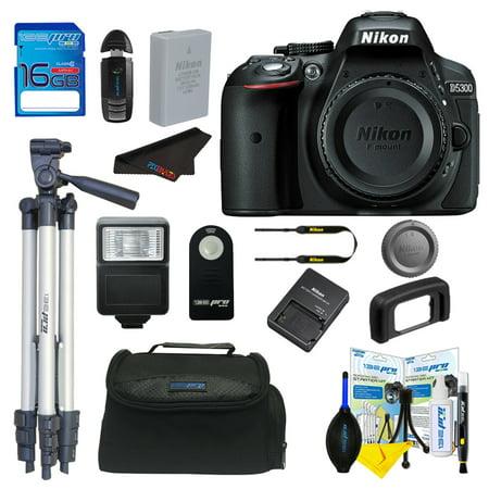 Nikon D5300 DSLR Camera + Pixi Basic Bundle Kit