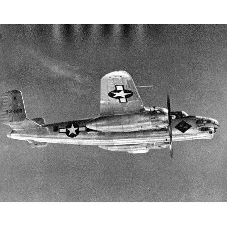 LAMINATED POSTER North American F-10 Mitchell, aerial reconnaissance version of the B-25 bomber. Poster Print 24 x 36