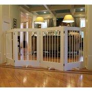 Cardinal Gates 4 Panel Freestanding Pet Gate