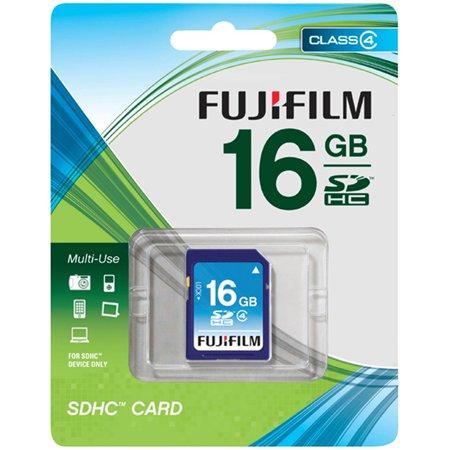 Fujifilm 600008955 SDHC Card, 16GB