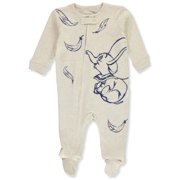 Disney Dumbo Baby Boys' Footed Coverall (Newborn)