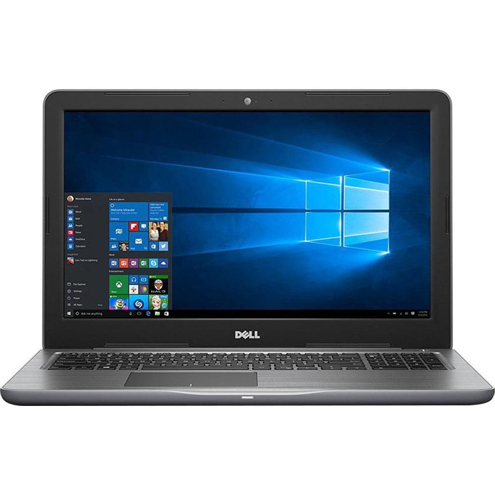 "Dell Inspiron 15 i5567-7381GRY 15.6"" Laptop - Core I7 7500u - 16 GB RAM - 1 TB SSD - Windows 10"