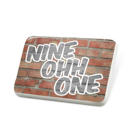 Porcelein Pin 901 Memphis, TN brick Lapel Badge – NEONBLOND - Costumes Memphis Tn