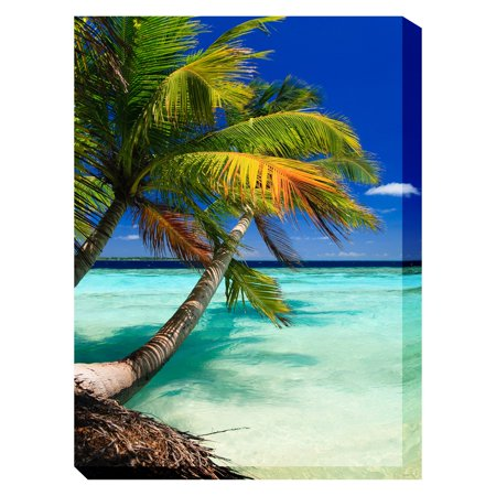 West Of The Wind Palm Vertical Outdoor Wall Art