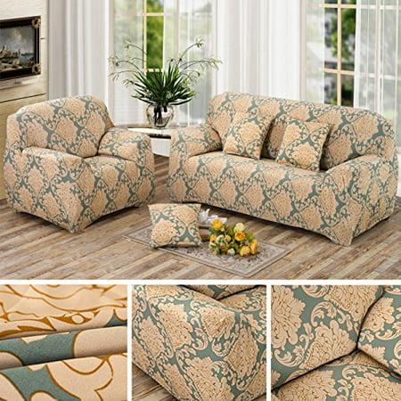 Excellent Anjuren 1 Piece Printed Stretch Slipcover Soft Furniture Unemploymentrelief Wooden Chair Designs For Living Room Unemploymentrelieforg