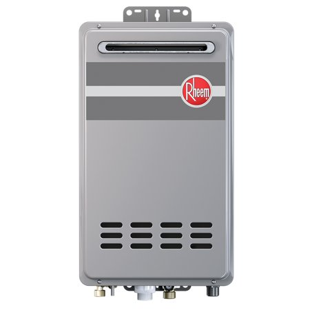 Rheem rtg 84xln outdoor tankless natural gas water heater for 3 bathroom tankless water heater