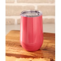 16-Oz. Stainless Steel Stemless Wine Tumblers-Pink