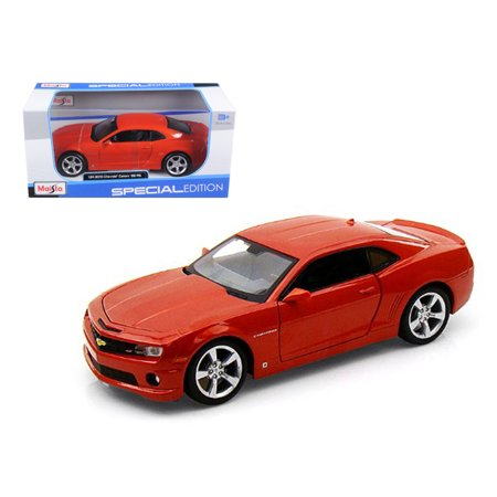 2010 Chevrolet Camaro RS SS Orange 1/24 Diecast Model Car by Maisto