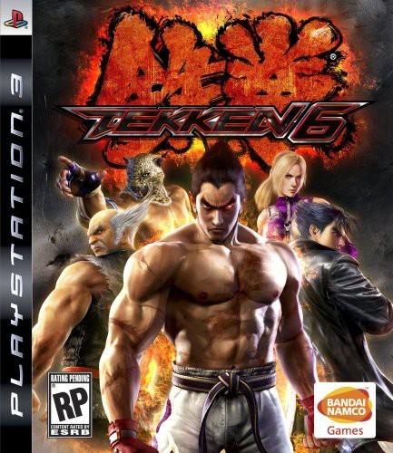Tekken 6, Bandai/Namco, PlayStation 3, 722674110228