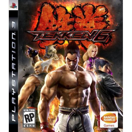 Tekken 6, Bandai/Namco, PlayStation 3, (Tekken 5 Best Character)