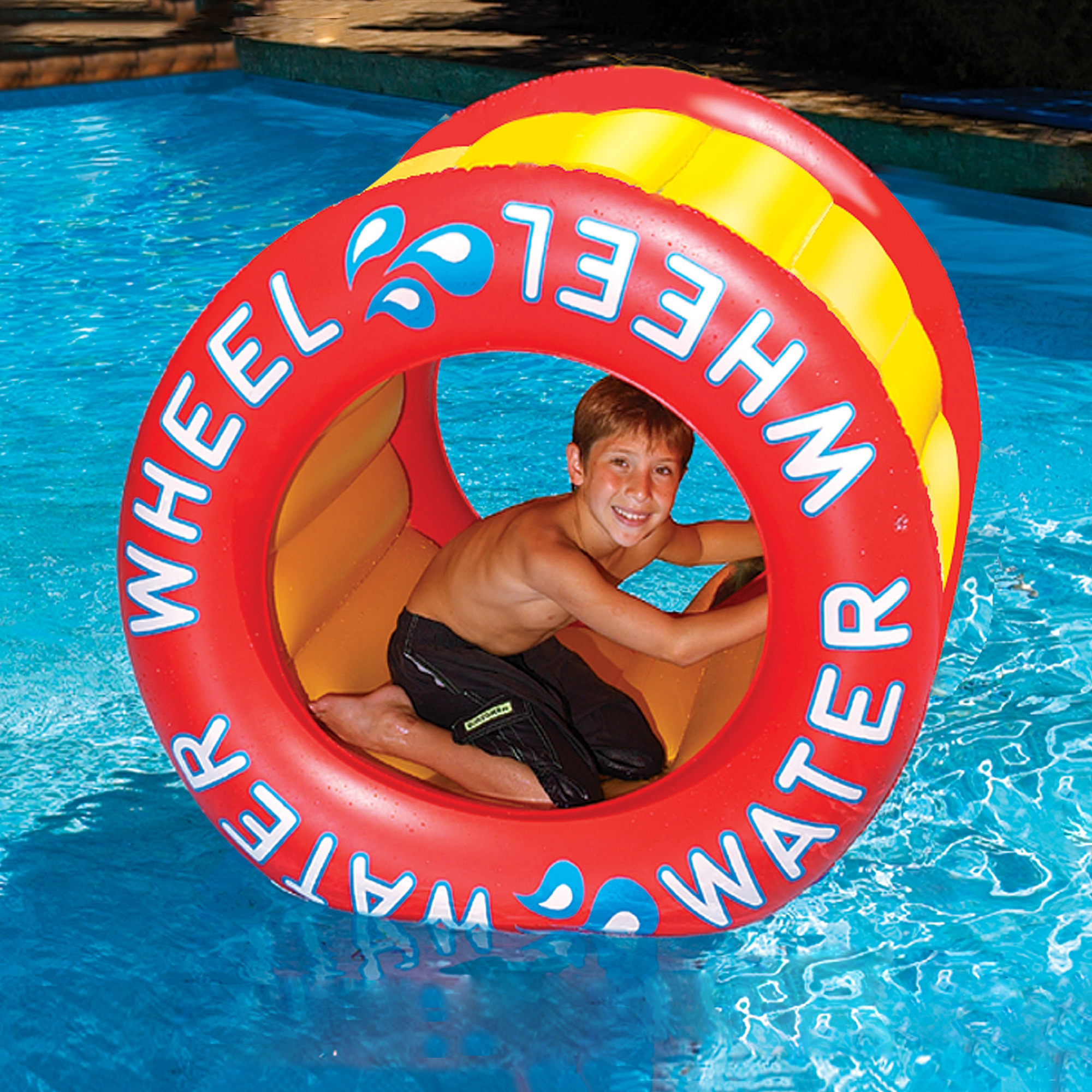 Swimline Water Wheel Inflatable Pool Toy by Blue Wave