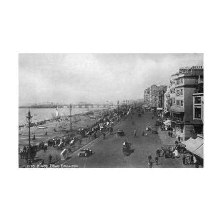 King's Road, Brighton, East Sussex, Early 20th Century Print Wall Art - Early 20th Century Halloween