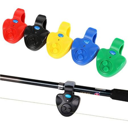 VICOODA Fishing Bite Alarm, Best Seneitive Electronic Indicator LED Sound Alert On Fishing Rod with Loud Siren Daytime/Night Carp Fishing