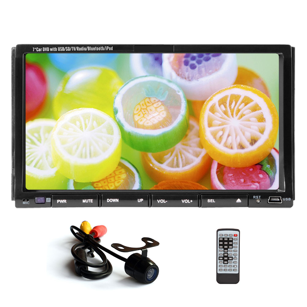 Pc Head Unit Bt Audio Audio Car Video System Double Din Cd