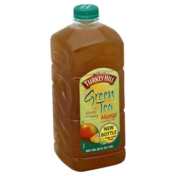 Turkey Hill Mango Green Tea, Half Gallon