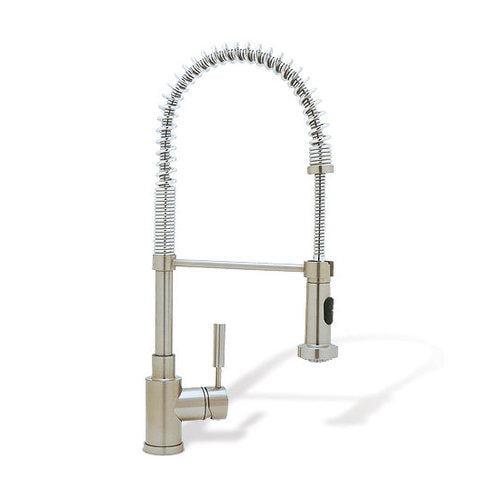 Blanco 440557 Blancokontrole 1-Handle Pull-Down Kitchen Faucet, Chrome