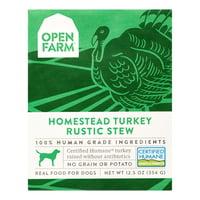 Open Farm Homestead Turkey Rustic Dog Stew, 12.5 Oz, Pack of 12