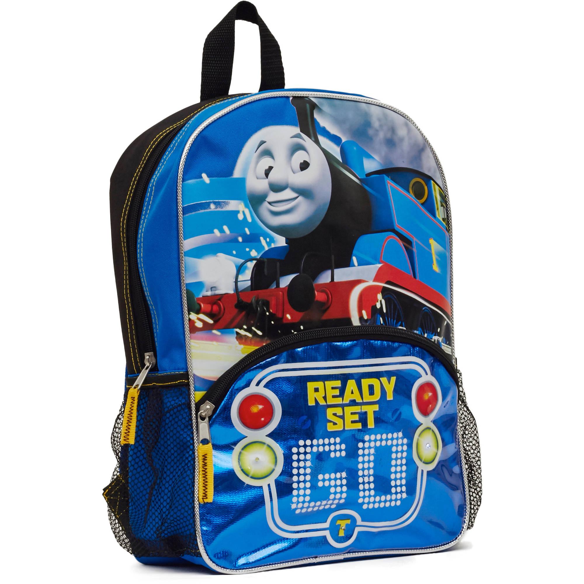 """Thomas """"Ready, Set, Go!"""" 14"""" Light Up Backpack"""