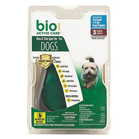 - Bio Spot Active Care Flea & Tick Dogs - 3 Month Md
