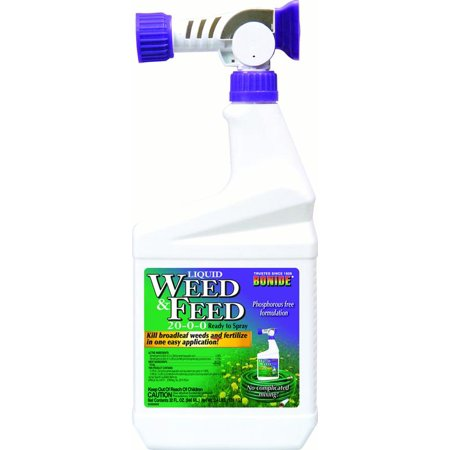 WEED & FEED LIQUID READY TO SPRAY 20-0-0