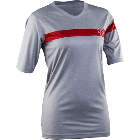 Race Face CHARLIE TECH TOP - SHORT SLEEVE GREY XS - Charlie Short