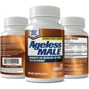 Ageless Male Free Testosterone Booster for Men (60 tablets)