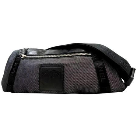 e5dd5b391953 CHANEL - CC Sports Waist Bag Fanny Pack 228165 - Walmart.com