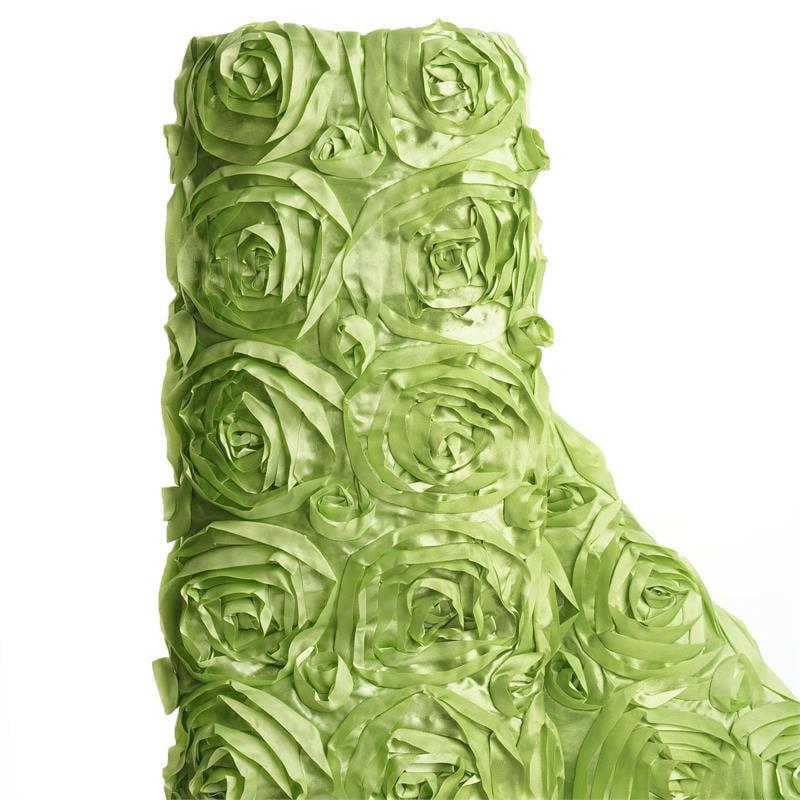 """BalsaCircle 54"""" x 4 yards Ribbon Roses Fabric Bolt Put-up - Sewing Crafts Draping Decorations Supplies"""