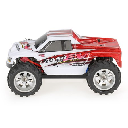 WLtoys A979-B 2.4G 1/18 Scale 4WD 70KM/h High Speed Electric RTR Truck RC Car - image 4 de 7
